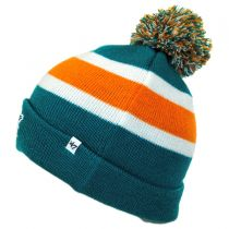 Miami Dolphins NFL Breakaway Knit Beanie Hat in