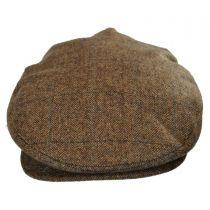 Barrel Plaid Wool Blend Ivy Cap in
