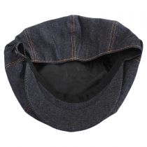 Denim Cotton Newsboy Cap alternate view 4