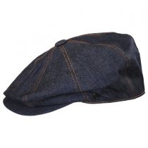 Denim Cotton Newsboy Cap alternate view 11