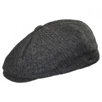 Kids' Herringbone Wool Blend Newsboy Cap in