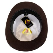 Mid Crown Wool Felt Top Hat alternate view 11