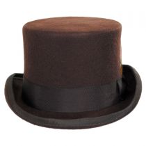 Mid Crown Wool Felt Top Hat alternate view 25