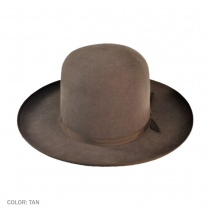 Bushman Fur Felt Open Crown Hat in