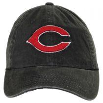 Cincinnati Reds MLB Raglan Strapback Baseball Cap Dad Hat alternate view 2