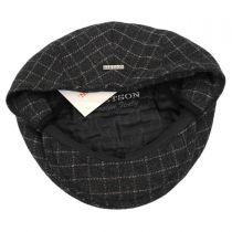 Plaid Wool Blend Earflap Ivy Cap in