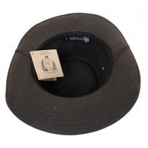 The McKenzie Waxed Cotton Outback Hat alternate view 4