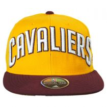 Cleveland Cavaliers NBA adidas On-Court Snapback Baseball Cap alternate view 2