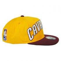 Cleveland Cavaliers NBA adidas On-Court Snapback Baseball Cap alternate view 3