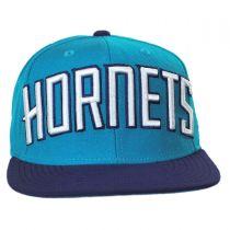 Charlotte Hornets NBA adidas On-Court Snapback Baseball Cap alternate view 2