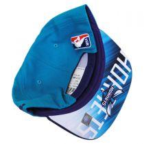 Charlotte Hornets NBA adidas On-Court Snapback Baseball Cap alternate view 4