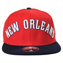 New Orleans Pelicans NBA adidas On-Court Snapback Baseball Cap alternate view 2