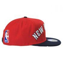 New Orleans Pelicans NBA adidas On-Court Snapback Baseball Cap alternate view 3