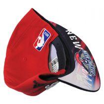 New Orleans Pelicans NBA adidas On-Court Snapback Baseball Cap alternate view 4