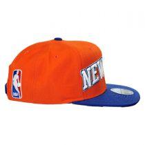 New York Knicks NBA adidas On-Court Snapback Baseball Cap alternate view 3