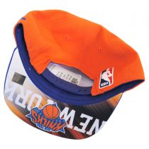 New York Knicks NBA adidas On-Court Snapback Baseball Cap alternate view 4