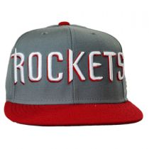 Houston Rockets NBA adidas On-Court Snapback Baseball Cap alternate view 2