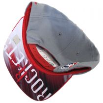 Houston Rockets NBA adidas On-Court Snapback Baseball Cap alternate view 4
