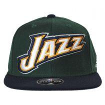 Utah Jazz NBA adidas On-Court Snapback Baseball Cap alternate view 2