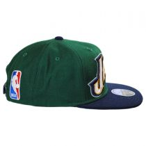 Utah Jazz NBA adidas On-Court Snapback Baseball Cap alternate view 3