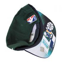 Utah Jazz NBA adidas On-Court Snapback Baseball Cap alternate view 4