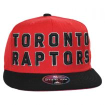 Toronto Raptors NBA adidas On-Court Snapback Baseball Cap alternate view 2