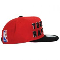 Toronto Raptors NBA adidas On-Court Snapback Baseball Cap alternate view 3
