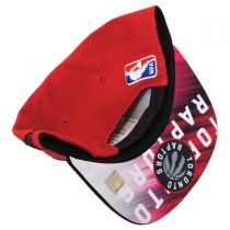 Toronto Raptors NBA adidas On-Court Snapback Baseball Cap alternate view 4