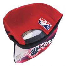 Washington Wizards NBA adidas On-Court Snapback Baseball Cap in