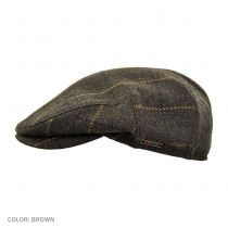 Plaid Wool and Cashmere Earflap Ivy Cap