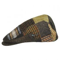 Donegal Tweed Patchwork Ivy Cap