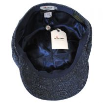 Magee Tic Weave Lambswool Newsboy Cap alternate view 5