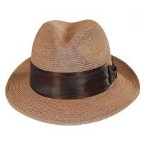 Nebula Hemp Straw Fedora Hat in