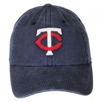 Minnesota Twins MLB Raglan Strapback Baseball Cap Dad Hat in