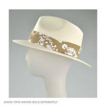 Pareo 3-Pleat Cotton Hat Band