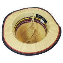 Coney Island Toyo Straw Fedora Hat in