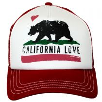 California Love Trucker Snapback Baseball Cap in