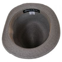 Bedford Toyo Straw Fedora Hat in