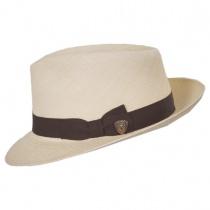 Jasper Grade 8 Panama Straw Fedora Hat in