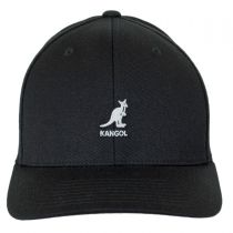 Logo Wool FlexFit Fitted Baseball Cap in