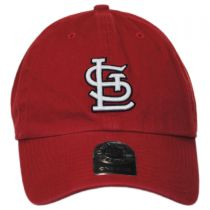 St Louis Cardinals MLB Clean Up Strapback Baseball Cap Dad Hat alternate view 7