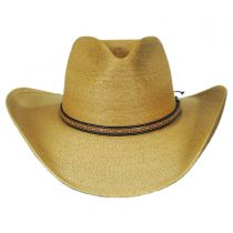 Sawmill Palm Leaf Straw Western Hat in