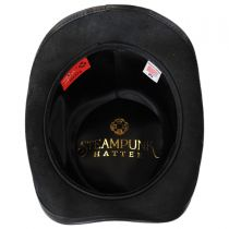 Royale Leather Topper Hat in