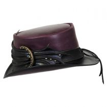 Perfect Malfoy Leather Top Hat in