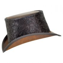Gent Leather Topper Hat in