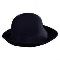 Six-Way Big Brim Wool Felt Cloche Hat alternate view 3