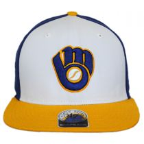 Milwaukee Brewers MLB Amble Snapback Baseball Cap in