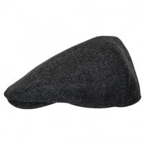 Coombe Herringbone English Wool Ivy Cap in