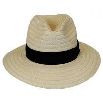 Splendid Summer Toyo Straw Fedora Hat in