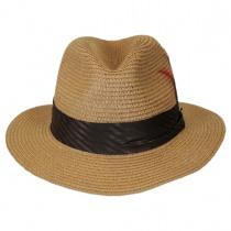 Toyo Straw Braid Safari Fedora Hat alternate view 20